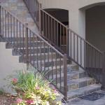 Tuscany C10 Railing stair section