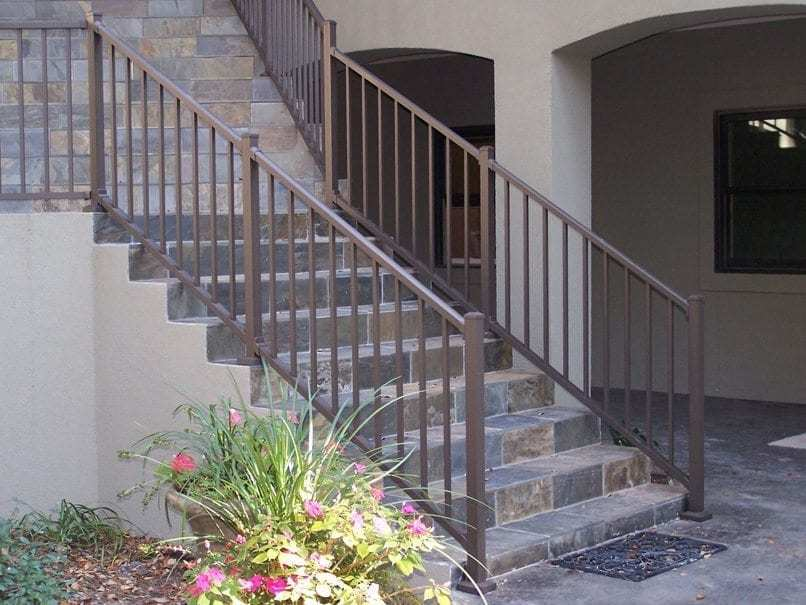 Tuscany C10 Railing 42 Quot X5 Stair Section Mmc Fencing