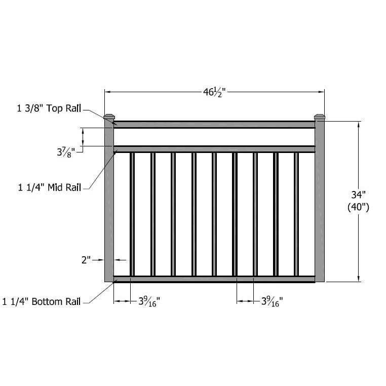 railing diagram
