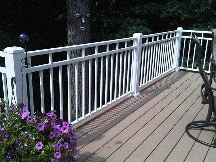 Riviera C32 Railing 42 Quot X 7 Stair Section Mmc Fencing