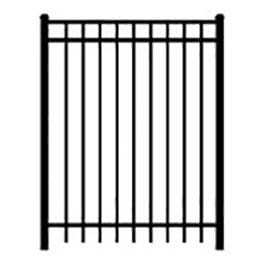 tall gate black textured
