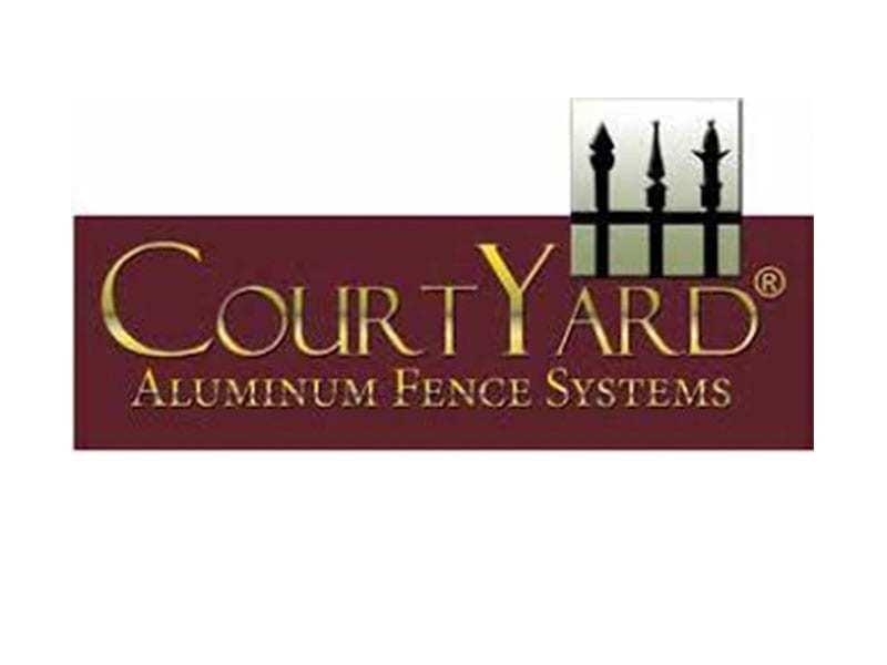 Courtyard Aluminum Fence